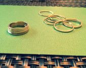 View Rings & Earrings by RoseyJohnny on Etsy