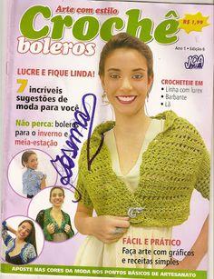 Arte com estilo - Croche Boleros - 譕淚らづ寳唄-03 - Álbuns da web do Picasa