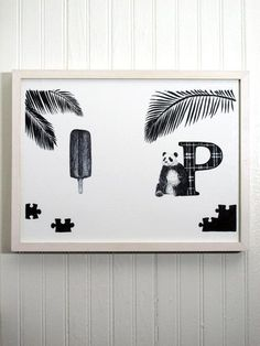 """I love all of these """"ABC Dream"""" prints by The Wild Unknown. There's a book, too."""