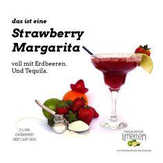 Das ist die Strawberry Margarita von freilaufende Limetten.