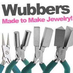 Wubbers at www.beadaholique.com - The professional choice for jewelry-making, Wubbers pliers are Made to Make Jewelry #diy #beading #jewelry-making