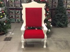 SANTA CHAIRS - Frost Holiday Props