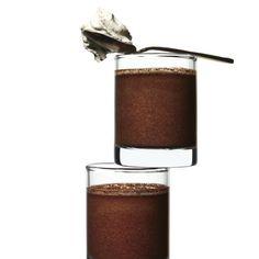 Smoked-Tea-Infused Chocolate Pots de Crème recipe | Epicurious.com