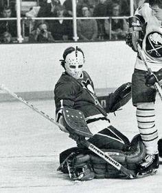 Bob Johnson, Pittsburgh Penguins, 1974-75? Hockey Goalie, Hockey Teams, Ice Hockey, Pittsburgh Penguins Goalies, Nhl, Pens Hockey, Hockey Rules, Robert Johnson, Goalie Mask