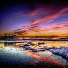 Apache Pier  - Myrtle Beach, South Carolina (Photo via Instagram by @sc_hilti_dan -  Click on the pin when you are ready to check out the hotel deals, things to do and more)