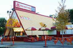 Nobody had hot dogs that tasted the same as their's. Wonder what the secret sauce was. Ontario California, Vintage California, Best Fast Food Places, San Gabriel Valley, Crazy Ex Girlfriends, Places In America, West Covina, The Old Days, Built Environment