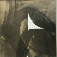 "Original Print . Fine Art Etching . Black and White Home Decor : Pane 4. Print Size 12"" x 12"" . unframed"