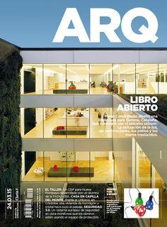 Tapa de la edición impresa de ARQ del martes  24 de marzo de 2015