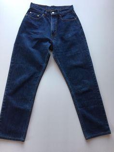Mens LEVI'S STRAUSS Blue Denim Jeans - 556 STRAIGHT LEG - W31 L33