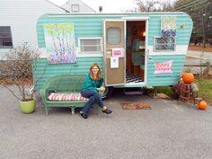 Happy Camper Mobile Art Gallery: PHOTOS