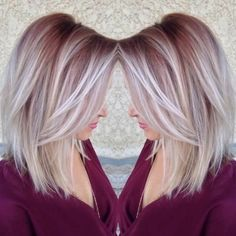 Love the cut not color