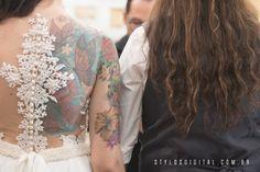 tatuagem noiva  - São Caetano do Sul - SP - Destination Wedding by Stylos Digital Photographers