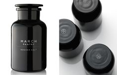 March Pantry Identity + Packaging Design by Design is Play, via Behance