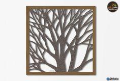 تابلوه مودرن خشبى اشجار الغابه 1 سفير ارت للديكور Wood Wall Art Wood Wall Wall Art