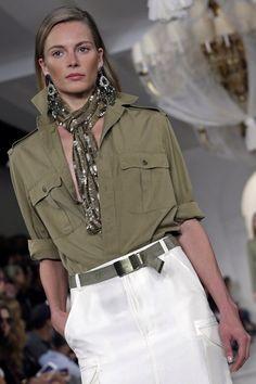 New Style Icons Women Fashion Dresses Ideas Fashion Over 40, Look Fashion, Urban Fashion, Womens Fashion, Safari Outfit Women, Safari Outfits, Cool Street Fashion, Street Style, Ralph Lauren Womens Clothing