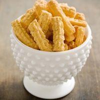 Paula Deens Zesty Cheese Straws Recipe