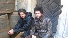 The Musketeers - Aramis and Porthos stunt doubles