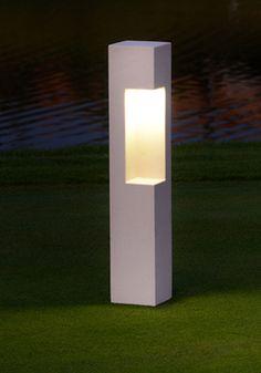Arest URBAN -  BOLLARD LIGHT - garden bollard light - bespoke outdoor lighting - modern bollard lights - decking led