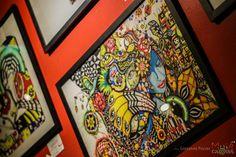 Exposição das ilustrações Muié Colores de Ju Rossi