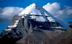 Stunning view of Mount Kailas the Third-Eye Chakra of Earth Kailash Mansarovar, Spiritual Eyes, Mysterious Places, Stunning View, Pilgrimage, Tibet, Mystic, National Parks, Photos