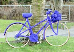 12 Must See Yarn Bomb Bicycles