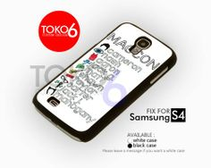 AJ 3910 MC Personil Logo - Samsung Galaxy S IV Case | toko6 - Accessories on ArtFire