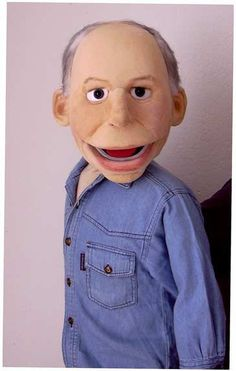 Art ,  foam puppet doll