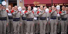 images de la légion étrangère   La Légion étrangère débarque en ville