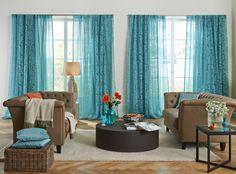 AMADEUS & MOZART #visillo #cortina #cortinetes #devorado #devorat #azules #blaus #saum #ontariofabrics #deco #home #hogar #llar
