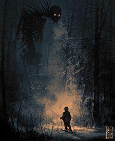 Dark Fantasy Art, Fantasy Artwork, Fantasy Kunst, Dark Artwork, Arte Horror, Horror Art, Creepy Horror, Spooky Scary, Images Terrifiantes