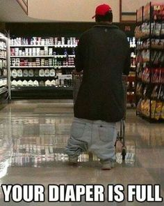 I'm dying. It's really sad that I have seen men in real life wearing their pants like this.