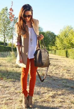 Blazer Oversized  , Zara in Jeans, H in Blazers, Zara in Ankle Boots / Booties, H in Bags