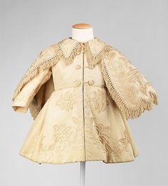 Boy's Silk Coat  #1868 #1860s