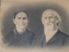 Joseph E. Loggins & Lucinda Jane Owen - about 1900 Williamson County Tennessee