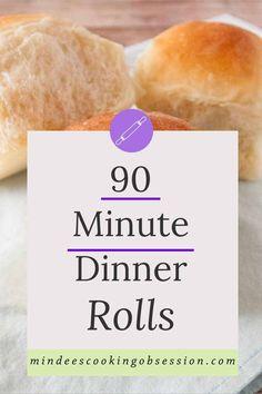 Cut down your time in the kitchen and still enjoy homemade rolls for dinner tonight! Bread Recipes, Baking Recipes, Dessert Recipes, Cinnamon Tea Cake, Sweet Roll Recipe, Homemade Rolls, Baked Rolls, Dinner Rolls Recipe, Fresh Bread