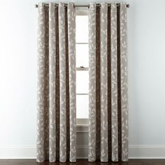 Buy JCPenney Home™ Quinn Leaf Grommet-Top Curtain Panel today at jcpenney.com. You deserve great deals and we've got them at jcp!