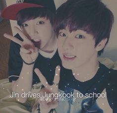 BTS facts Jin and Jungkook