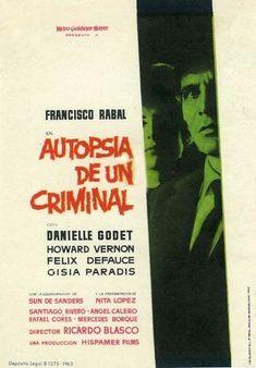 Autopsia de un criminal (1963) de Ricardo Blasco - tt0055765
