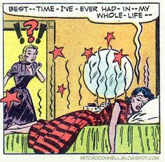 Mitch O'Connell: Sex in Comics! The top 100 strangest, suggestive and steamy vintage comic book panels of all time! Vintage Pop Art, Vintage Comic Books, Vintage Comics, Comic Books Art, Comic Art, Pulp Fiction, Comic Frame, Superman, Batman