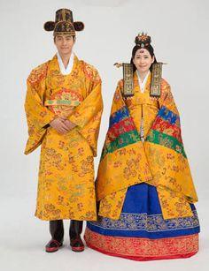 Image result for traditional korean wedding dress