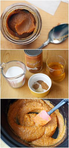 Crock-Pot pumpkin butter....  need to make this for the fall and even give away as gifts!
