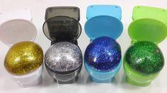 Toy Tainer Toilet Glitter Poop Slime Toys - शचलय चमक पप कचड गद पन क गबबर