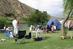 Robertson - Awesome campsite on the river.