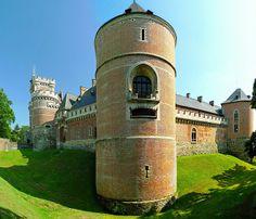 Châteaux Forts Médiévaux de Belgique et Moyen Âge: Château fort de Gaasbeek