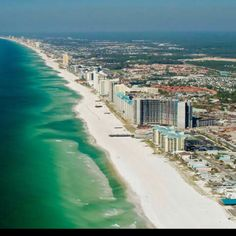 Panama City Beach, FL! Georgia Spring breakers' favorite beach. I've gone there many times growing up!!