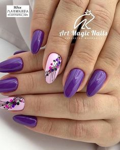 In search for some nail designs and ideas for your nails? Listed here is our list of must-try coffin acrylic nails for stylish women. Manicure Nail Designs, Nail Manicure, Toe Nails, Coffin Nails, Nail Polish, Pretty Gel Nails, Gorgeous Nails, Purple Nail Art, Purple Nails With Design