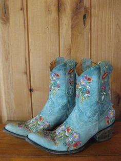 Old Gringo Sora Aqua Blue Boots - RiverTrail Mercantile