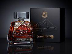 "Agency: DSG Creative Design Production Client: Wine and Brandy House ""Shahnazaryan"" (Russia-Armenia) Commercial project developed in Alcohol Bottles, Liquor Bottles, Perfume Bottles, Bottle Packaging, Brand Packaging, Spirit Drink, Liquor Dispenser, Strong Drinks, Cigars And Whiskey"
