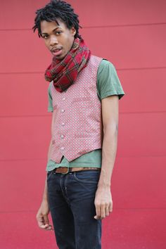 The Jason vest sewing pattern available on BurdaStyle #menswear #copyrightfree