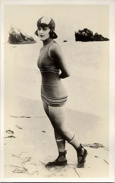 Mack Sennett bathing beauty Gloria Swanson